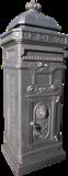 Engelse Brievenbus Aluminium - Brons_